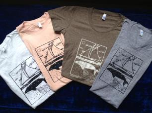 Kate's Dorothy and Grey Whale tees