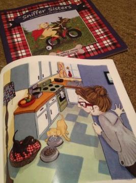 Sniffer Sisters Illustration1-Jeffrey James